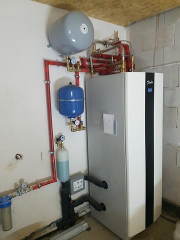 Gruntowa pompa ciepła z chłodzeniem pasywnym - Oleśnica